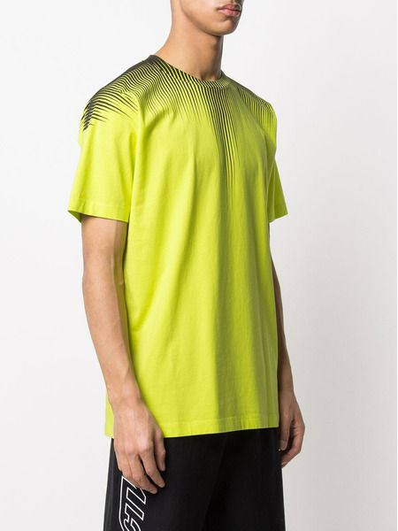 Желтая футболка с принтом Fall Wings