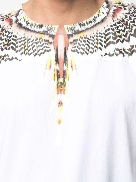 Белая футболка с принтом Grizzly Wings