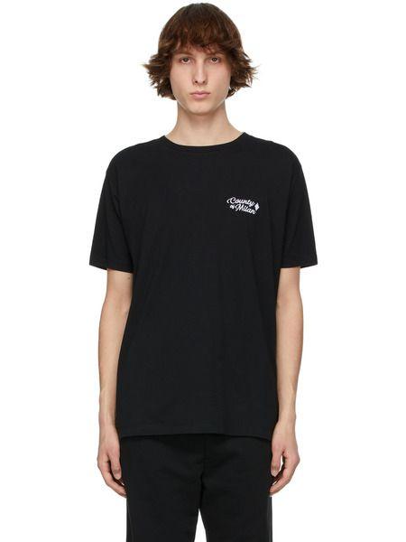 Черная футболка с логотипом Marcelo Burlon, фото