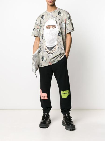 Черные спортивные брюки DBL с принтом Marcelo Burlon, фото