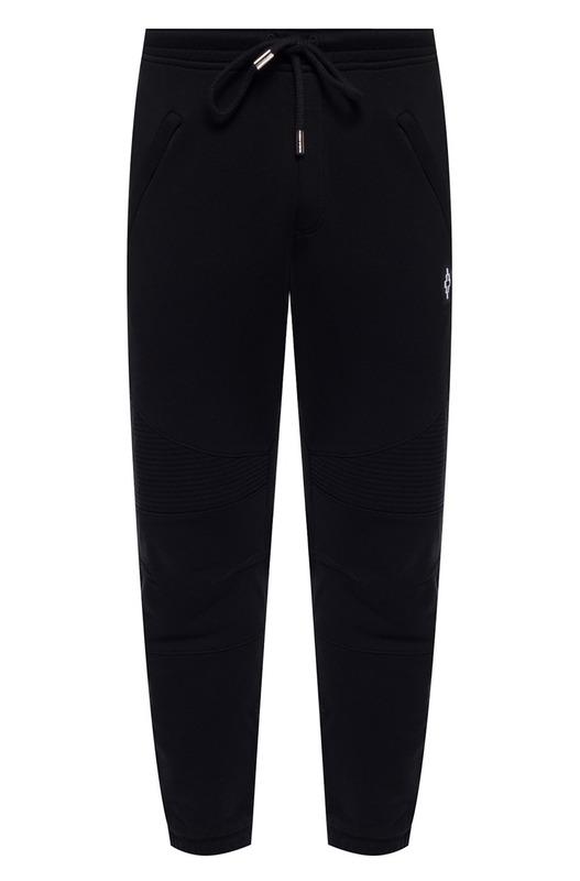 Черные спортивные штаны с логотипом Marcelo Burlon, фото