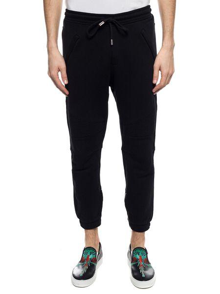 Черные спортивные штаны с логотипом
