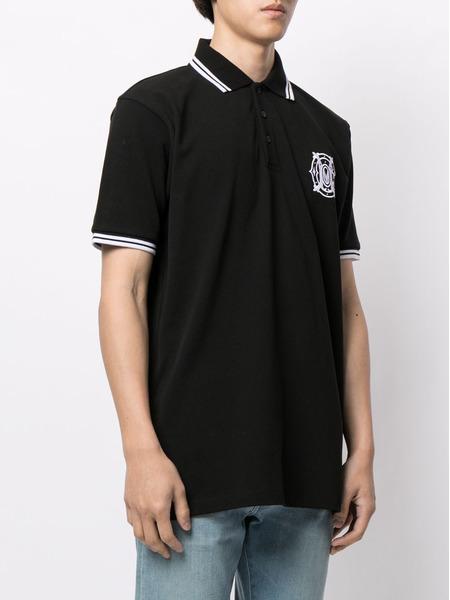 Рубашка поло с вышитым логотипом Marcelo Burlon, фото