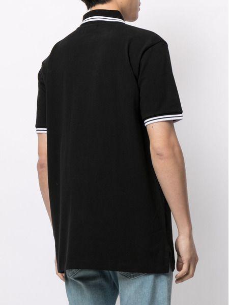 Рубашка поло с вышитым логотипом