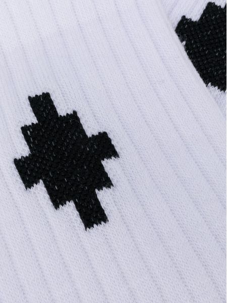 Белые носки Cross с логотипом