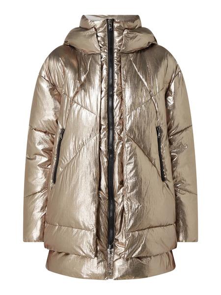 Стеганая куртка с эффектом металлик Eugenie Canadian фото