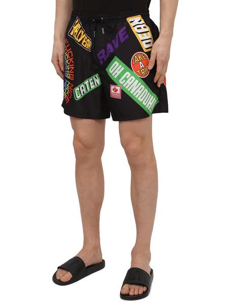 Разноцветные плавки-шорты Dsquared2, фото