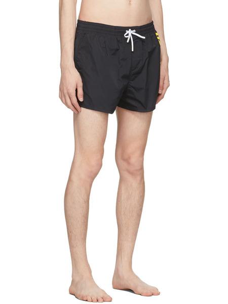 Черные шорты для плавания с логотипом Dsquared2, фото