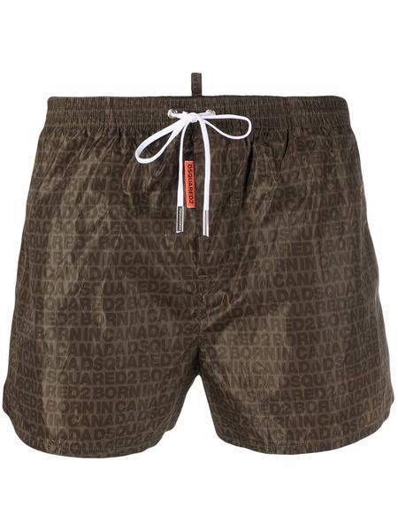 Плавки-шорты с логотипом Dsquared2, фото