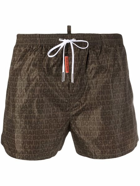 Плавки-шорты с логотипом Dsquared2 фото