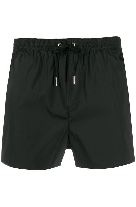 Черные плавки-шорты с логотипом Dsquared2, фото