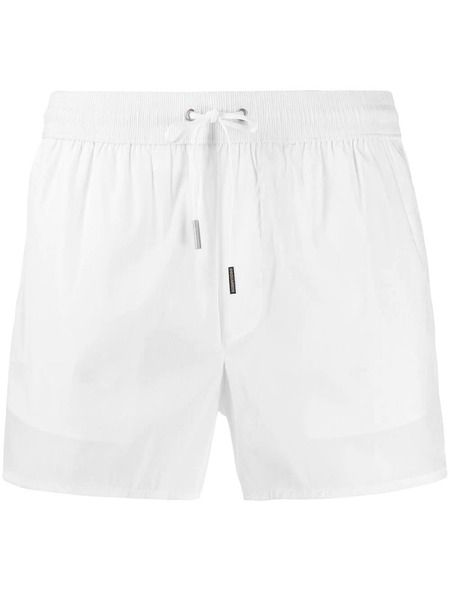 Белые шорты-плавки Riccione Dsquared2 фото