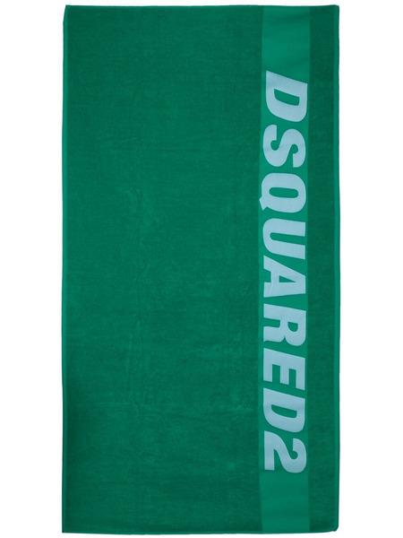Пляжное полотенце с логотипом Dsquared2, фото