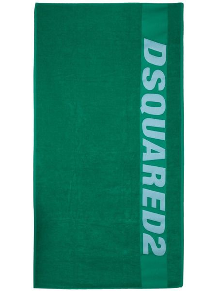 Пляжное полотенце с логотипом Dsquared2 фото