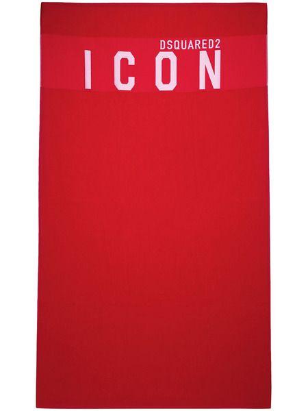 Пляжное полотенце с принтом Icon Dsquared2 фото
