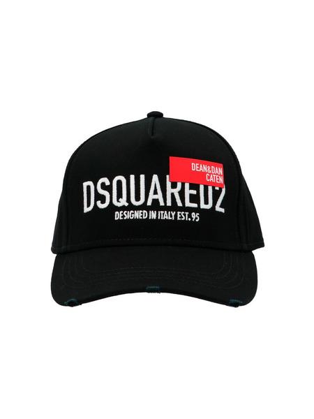Кепка с вышитым логотипом Dsquared2, фото