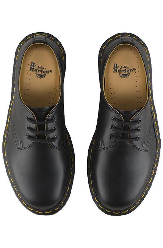 Короткие кожаные туфли 1461 Dr.Martens, фото