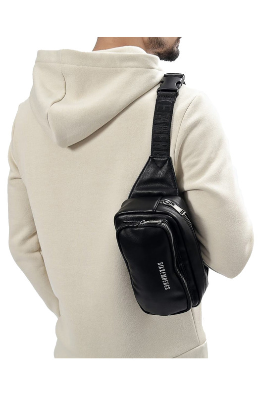 Поясная сумка Eco Leather 999 Black Bikkembergs, фото