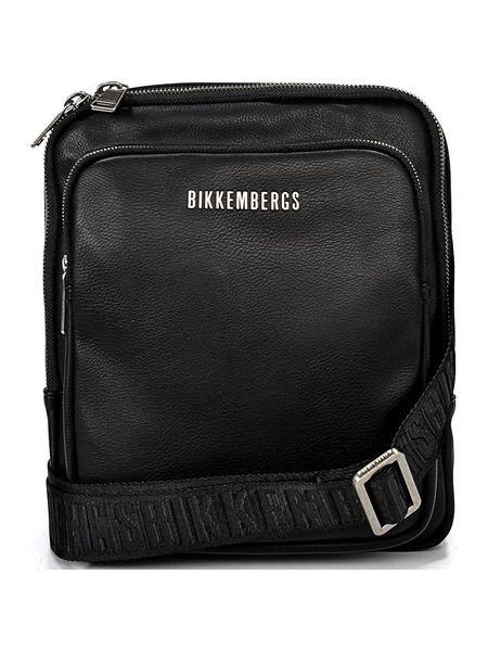 Мужская черная сумка-клатч Bikkembergs фото