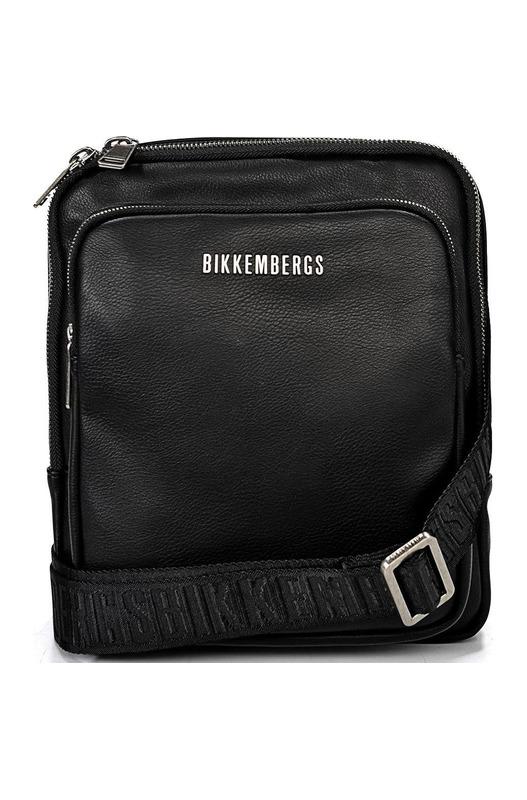 Мужская черная сумка-клатч Bikkembergs, фото