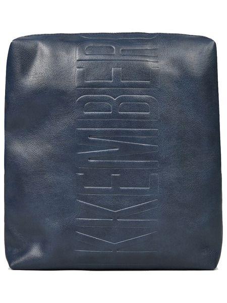 Темно-синяя сумка с логотипом