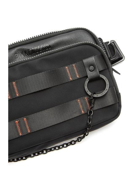 Поясная сумка с декорированными ремешками Bikkembergs, фото