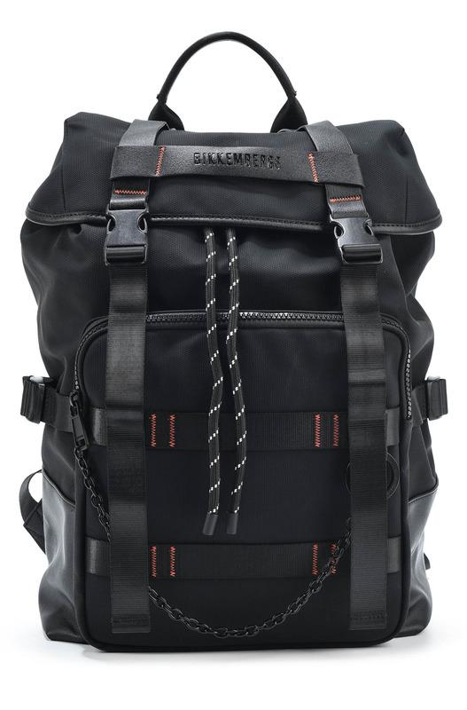 Черный рюкзак Bikkembergs, фото