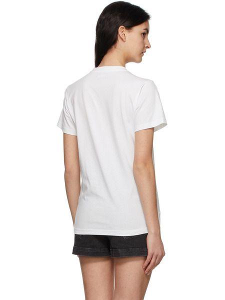 Белая футболка Zaof с логотипом