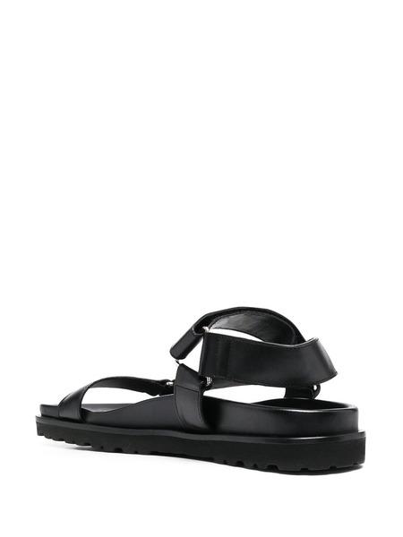Черные сандалии с ремешками Dsquared2, фото