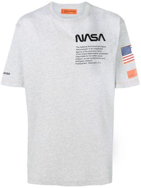 Футболка NASA Heron Preston фото