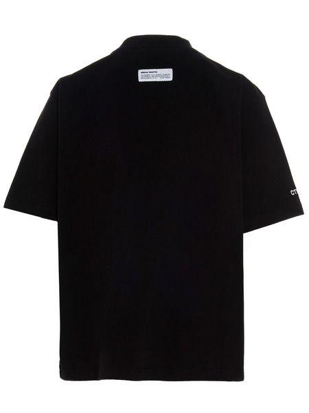 Черная футболка CTNB с воротником-стойкой и карманом