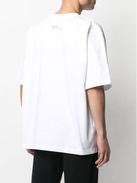 Белая футболка Reg с графичным принтом