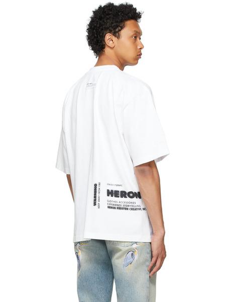 Белая футболка Caterpillar Edition 'Power' Heron Preston, фото