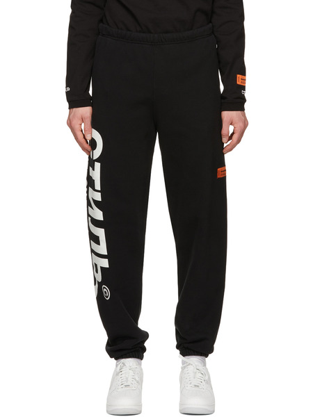 Черные спортивные штаны Style Heron Preston, фото