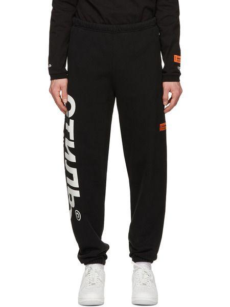 Черные спортивные штаны Style Heron Preston фото