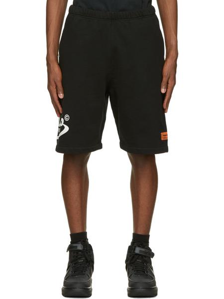 Черные спортивные шорты Style Heron Preston, фото