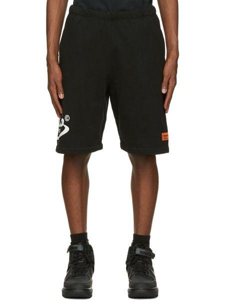 Черные спортивные шорты Style Heron Preston фото