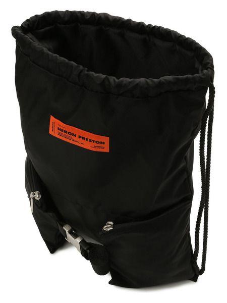 Текстильный рюкзак с нашивкой-логотипом