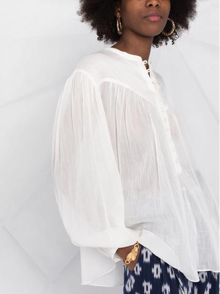 Белая блузка Kiledia с длинными рукавами Isabel Marant, фото