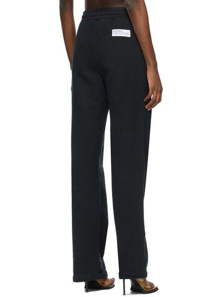 Черные прямые брюки Lounge