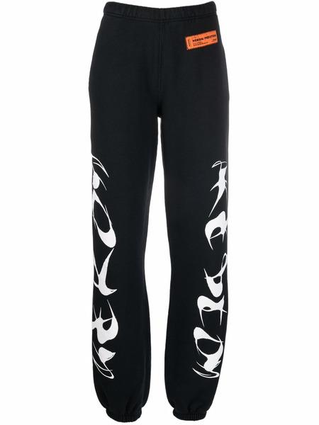Черные спортивные брюки с логотипом Heron Preston, фото