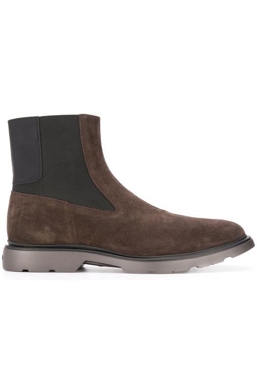 Коричневые ботинки челси