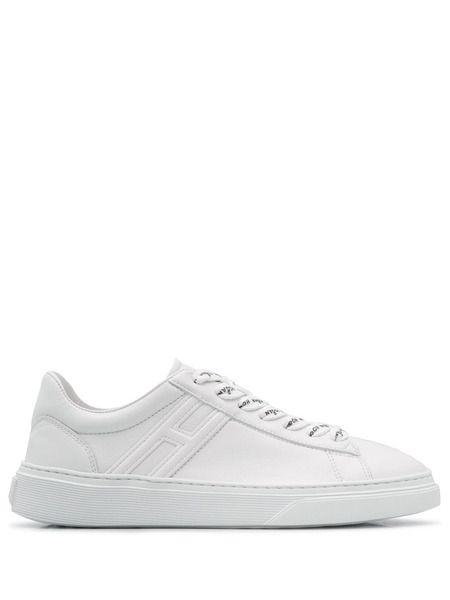Белые кроссовки с логотипом Hogan фото