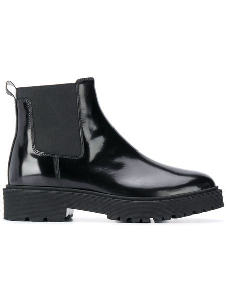 Лакированные ботинки челси Hogan фото