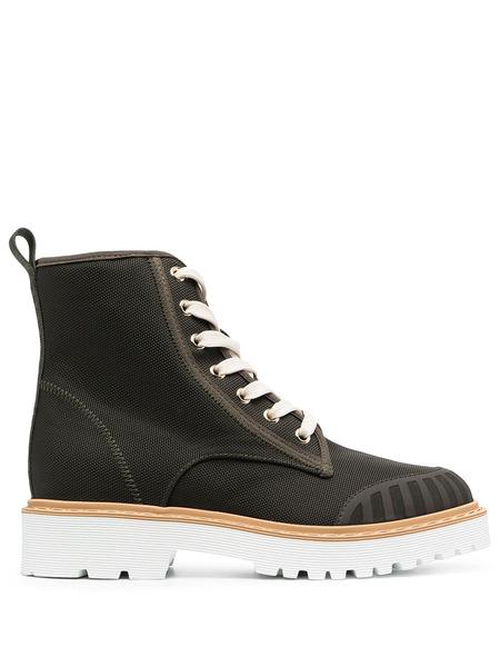 Ботинки Combat на шнуровке Hogan, фото