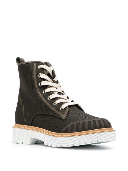 Ботинки Combat на шнуровке