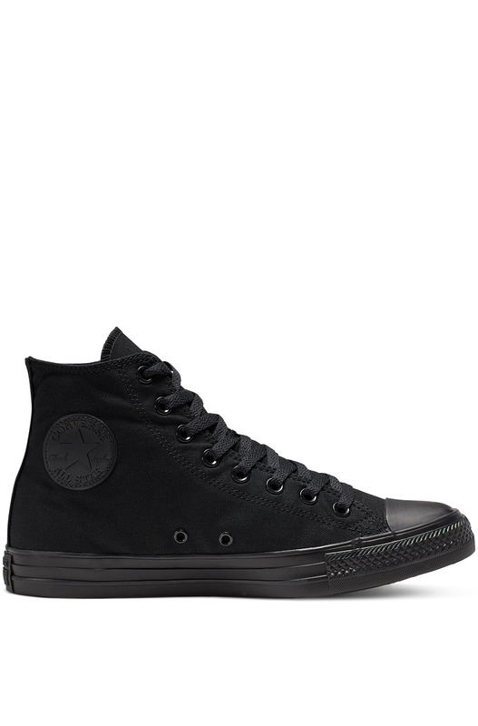 Кеды All Star Hi Black Mono M3310C Converse, фото