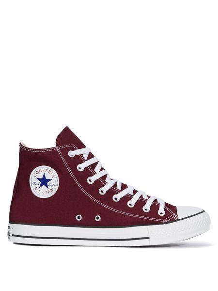 Кеды All Star Hi Maroon Converse фото