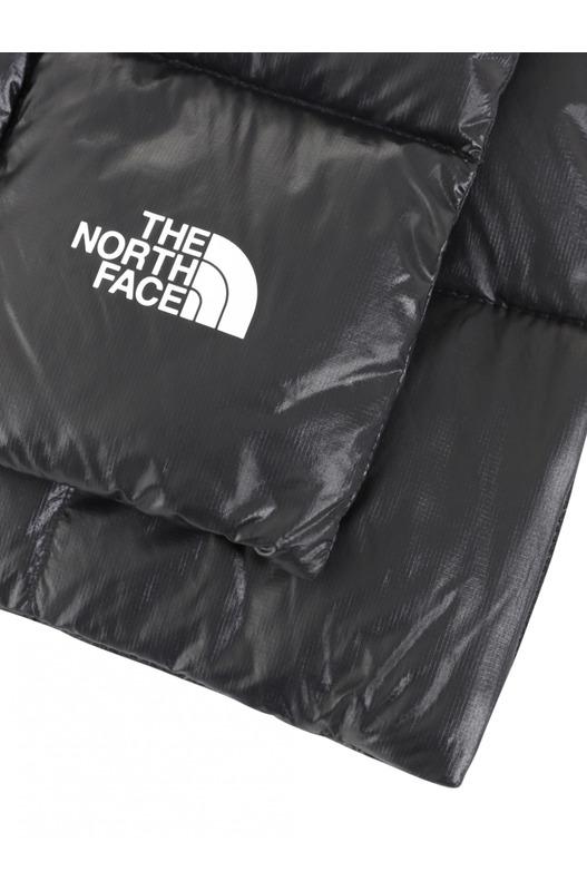 Черный стеганый шарф The North Face, фото