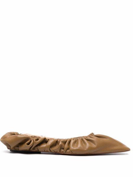 Балетки с квадратным носком Nanushka фото